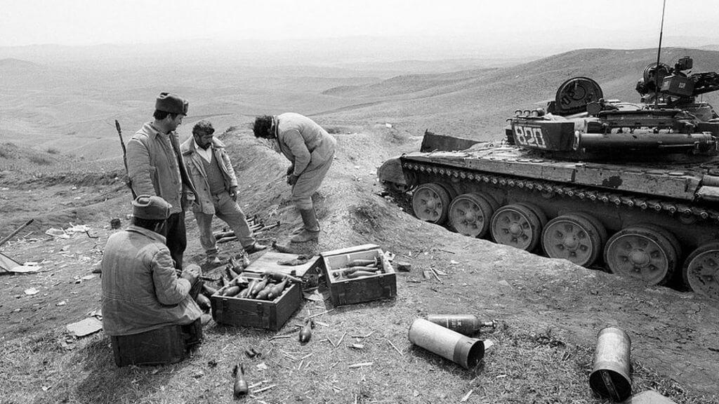 Soviet Armenia Tanks