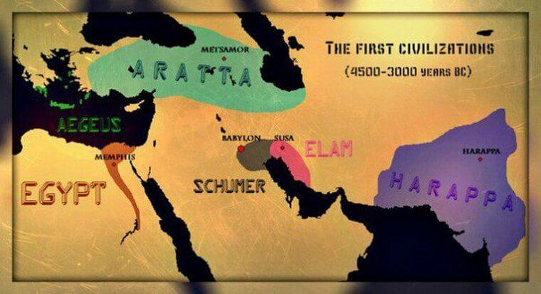 Foundation of Armenia Map
