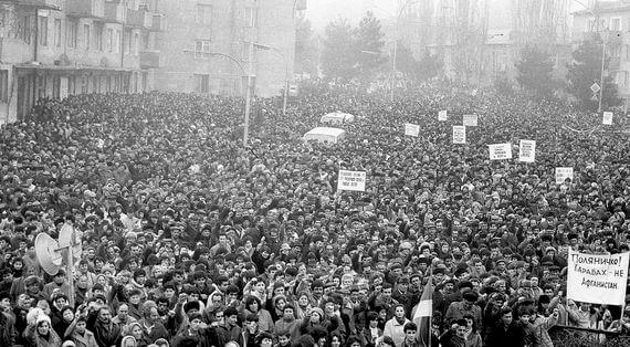 Movement During Soviet Armenia