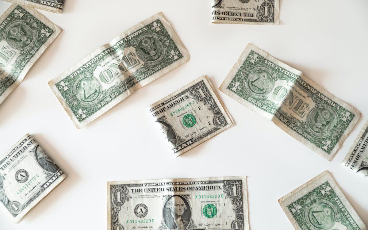 Damaged and ripped bills